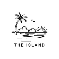 Obraz tropical island - fototapety do salonu