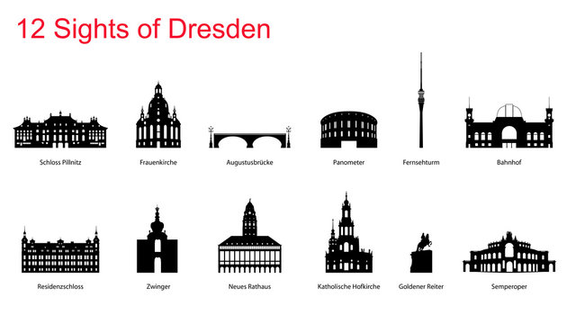 12 Sights of Dresden