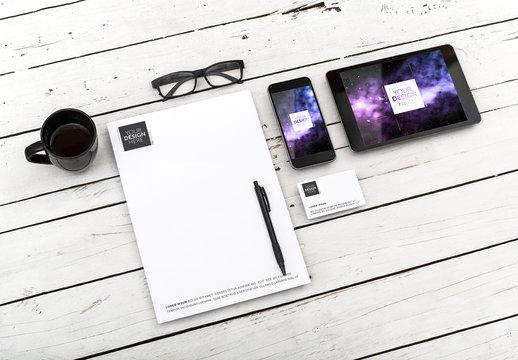 Print and Digital Identity Mockup