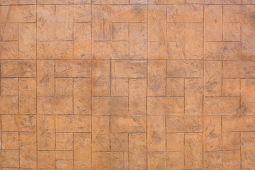 Brown brick wall of Texture Background.