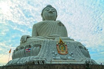 Big Buddha on Phuket in Thailand, Asia