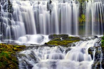 Spring Melt Full Waterfall Close Up