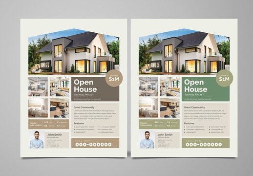 Simple Real Estate Flyer Layout