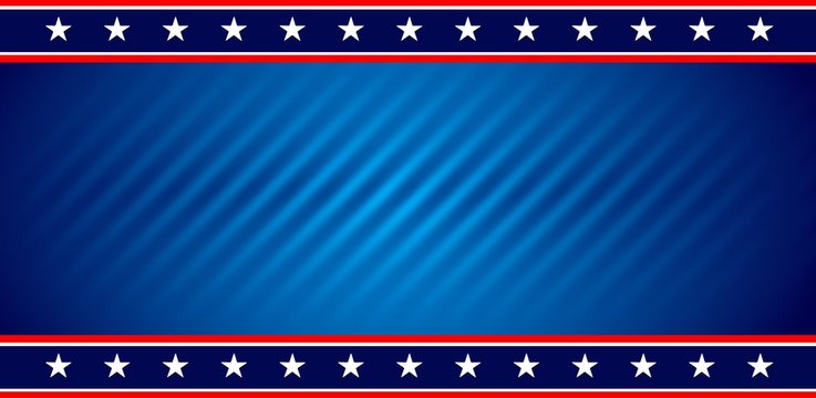 American USA flag background