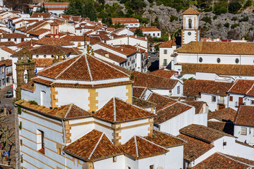 Grazalema, white village in the province of Cadiz, Andalusia, Spain