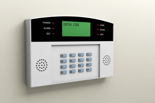 system alarm protection safety box code security