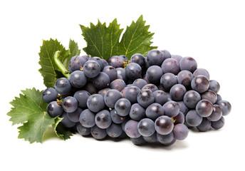 Grapes on white background  Fototapete