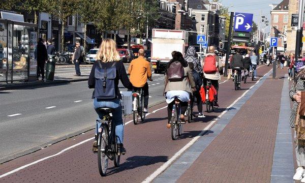 amsterdam...transport vert