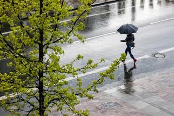 Regenwetter ist Erkältungszeit