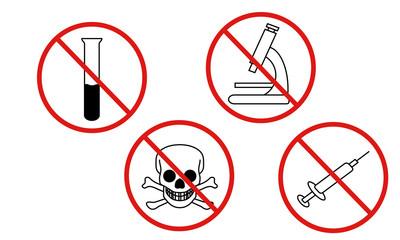 Icons Keine Chemikalien