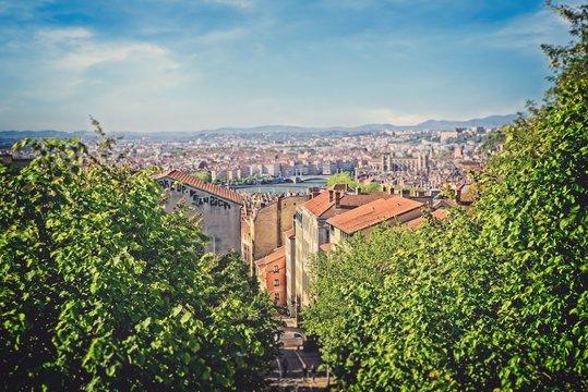 Lyon toits de la Croix Rousse