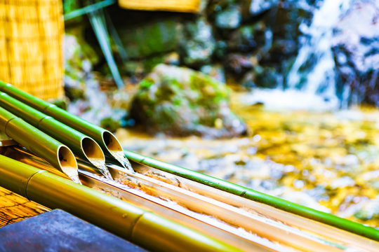 Nagashi Somen in Kyoto Japan