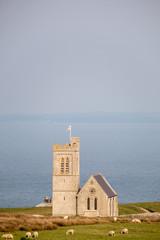 Lundy church devon england uk
