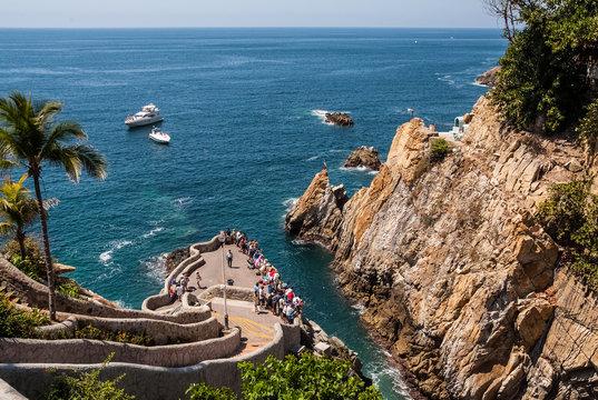 La Quebrada Cliff Divers Acapulco Mexico