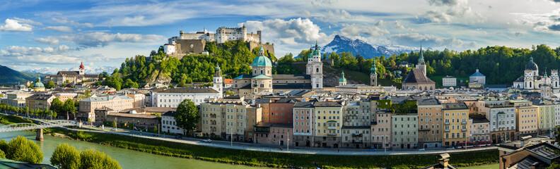 View to Salzburg Skyline from, Austria