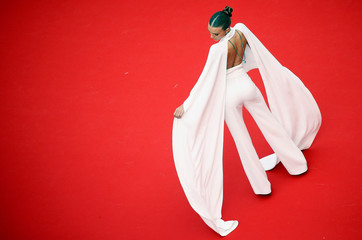 """72nd Cannes Film Festival - Screening of the film """"Roubaix, une lumiere"""" (Oh Mercy!) in competition - Red Carpet Arrivals"""