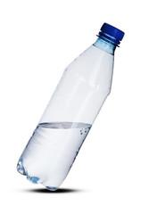 plastic bottle of water