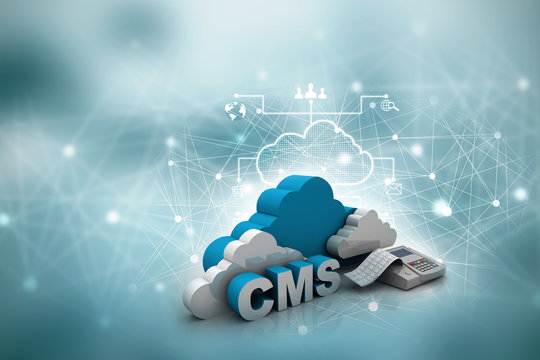 3d rendering cms cloud
