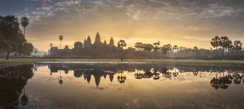 Temple complex Angkor Wat Siem Reap, Cambodia