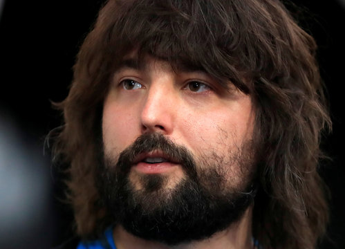 Tom Szaky CEO and founder of TerraCycle and Loop attends the news conference held by French retailer Carrefour and U.S. waste recycling firm TerraCycle to launch Loop, an e-commerce service to cut the flow of single-use plastic containers in Paris
