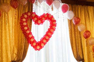 balloons at the wedding