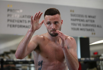 Josh Taylor Media Work-Outs