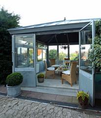 intergarten Orangerie Garten Sommer Haus zuhause