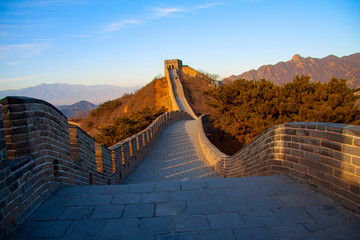 Fotobehang Chinese Muur The Great Wall of China - image