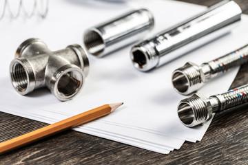 New flexible hydraulic system elements