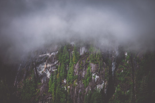 Foggy Fjords in the great state of Alaska