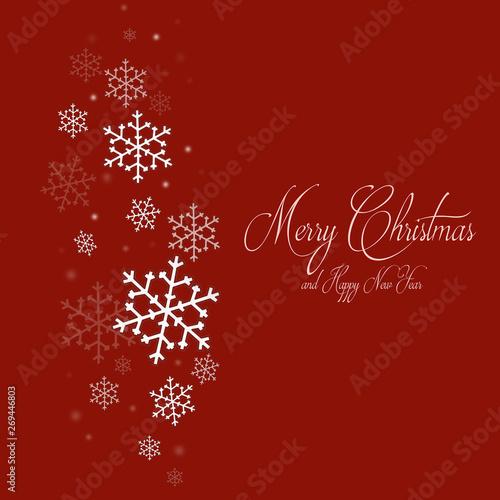 Immagini Per Auguri Natale E Capodanno.Biglietto Di Auguri Di Natale E Capodanno Con Fiocchi