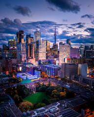Tuinposter Toronto Epic City Skyline of Toronto Canada