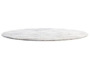 Modern light gray rug with high pile. 3d render Fototapete