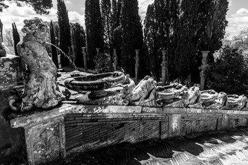 Caprarola (Viterbo), Villa Farnese Fototapete
