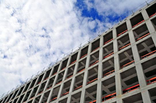 Robau Fassadenseite mit Absturzsicherung