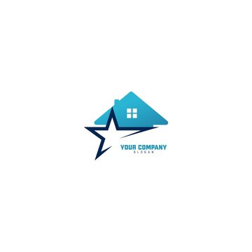 Star House Logo Inspirations Template