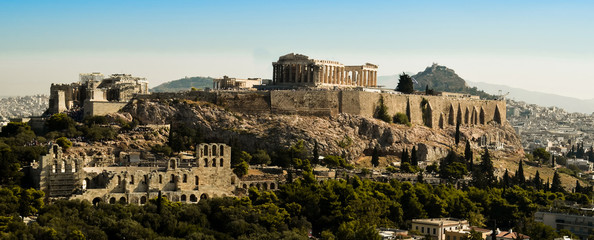Fototapete - Parthenon Acropolis in Athens  Greece
