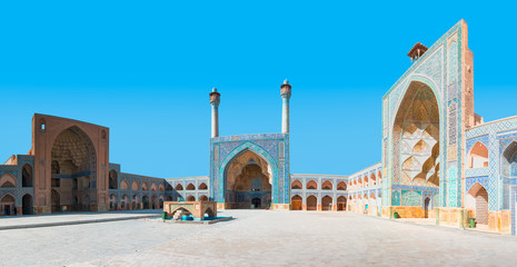 The Jameh Mosque - UNESCO World Heritage Site - Isfahan, Iran  Wall mural