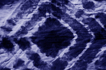 Abstract blurred tie dye pattern background
