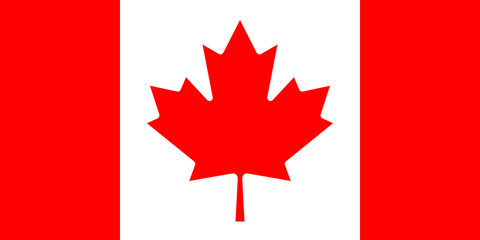 Canadian flag. mapple leaf