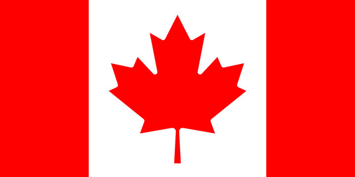 Canadian flag. mapple leaf