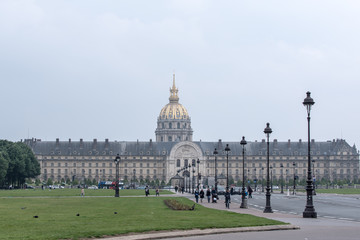 Baroque City Palais Invalides Paris France