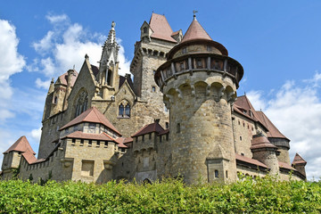 Fototapeta Old castle of Kreuzenstein in Austria obraz