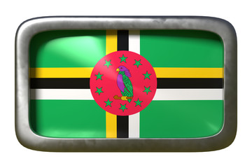 Dominica flag sign