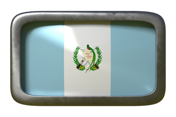 Guatemala flag sign