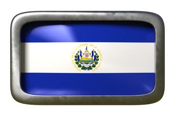 Republic of El Salvador flag sign