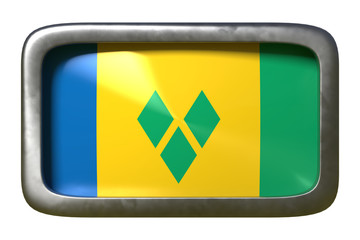 Saint Vincent and the Grenadines flag sign