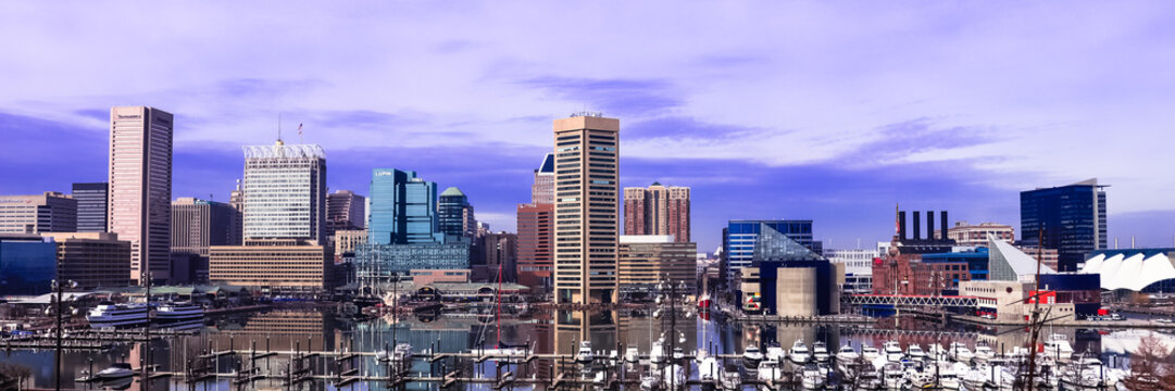 Baltimore City Wide View