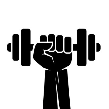 Fitness sport vector icon