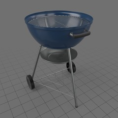 Open charcoal grill